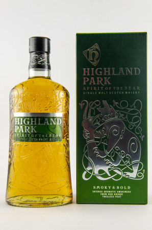 HIGHLAND PARK - SPIRIT OF THE BEAR - 40% 1x1,0L smoky & bold – Bild 1