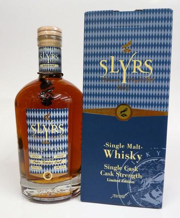 SLYRS SINGLE CASK - PEDRO XIMÉNEZ  Cask Strength - Bavarian Single Malt Whisky 54,1% - 54,6% 1x0,70L – Bild 1