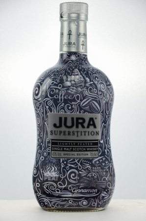 ISLE OF JURA SUPERSTITION TATTOO - 43%Vol 0,70L - Single Malt Scotch Whisky - Special Edition
