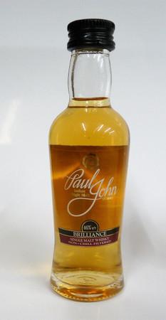 PAUL JOHN - BRILLIANCE - Single Malt Whisky Indien 46%vol. 1x0,05L MINIATUR