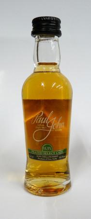 PAUL JOHN - PEATED SELECT CASK - Single Malt Whisky Indien 55,5%vol. 1x0,05L MINIATUR