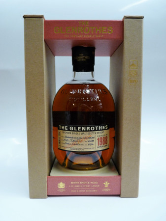 THE GLENROTHES 1988-2017 / 29 y.o. - Speyside Single Malt Whisky 44,1% 1x0,70L
