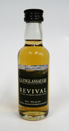GLENGLASSAUGH REVIVAL - 1x0,05L 46%vol. Single Malt Whisky MINIATUR