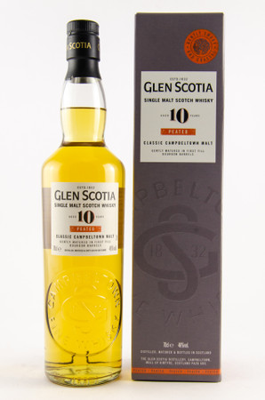 GLEN SCOTIA 10 Years PEATED - Campbeltown Single Malt Scotch Whisky 1x0,7L 46%vol. – Bild 1