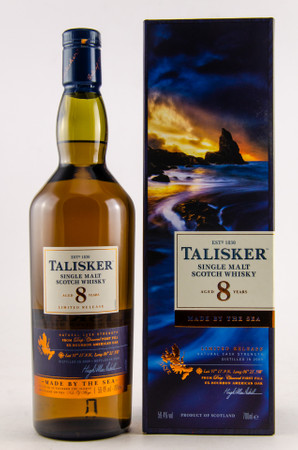 TALISKER 8 Years LIMITED RELEASE 2018 - 59,4% Vol 1x0,7L Single Malt Scotch Whisky