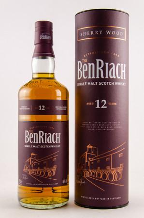 BENRIACH 12 y.o. Sherry Wood - 46%Vol.- 1x0,70L - Single Malt Whisky – Bild 1
