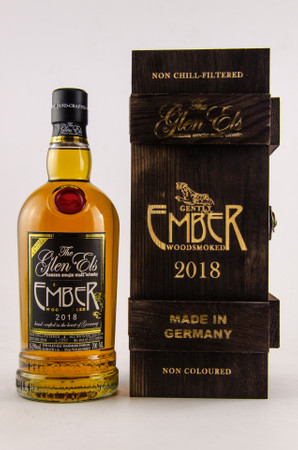 GLEN ELS - EMBER the woodsmoked Limited Release 2018 -Single Malt Whisky 45,9% 1x0,70L
