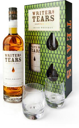 WRITER'S TEARS - COPPER POT -  40%Vol.1x0,7L Irish Whiskey /Gift Set+2xGlasses – Bild 2