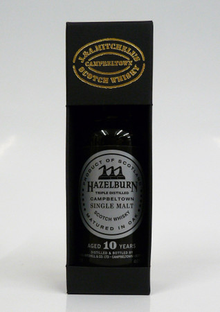 HAZELBURN 10y.o. (Springbank) - 46% Vol 1x0,05L MINIATUR - Campbeltown Single Malt Whisky