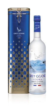 GREY GOOSE VODKA from France in GP - 1x0,70L 40%vol. – Bild 1