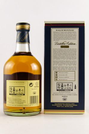 DALWHINNIE Distillers Edition 2018 -  43% Vol 1x0,7L Single Malt Scotch Whisky – Bild 2