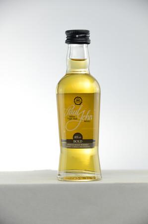 PAUL JOHN - BOLD - Single Malt Whisky Indien 46%vol. 1x0,05L MINIATUR