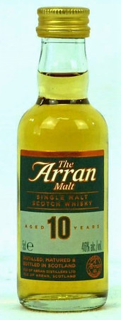 THE ARRAN - 10 Years Old - 46% Vol 1x0,05L MINIATUR - Single Malt Whisky