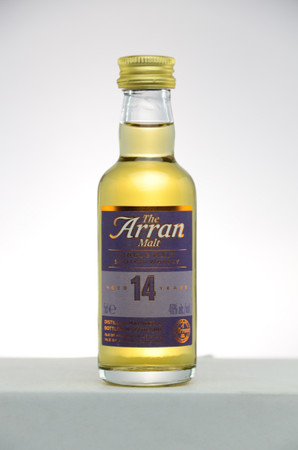 THE ARRAN - 14 Years Old - 46% Vol 1x0,05L MINIATUR - Single Malt Whisky