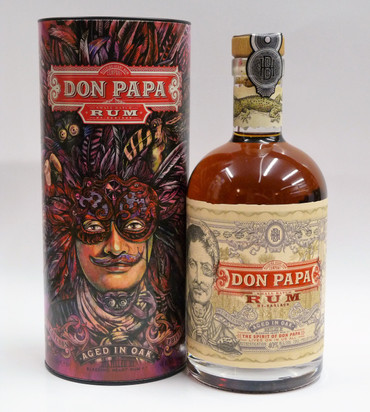 Rum DON PAPA 7 Jahre 40%vol 1x0,70L in GP / Tube