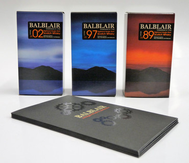 BALBLAIR 3 VINTAGE MINI GIFT PACK - Single Malt Whisky 46% 3x0,05L Miniatur Pack – Bild 2