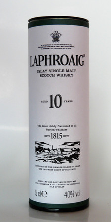 LAPHROAIG 10 Jahre -  Single Islay Malt Whisky 40% 1x0,05L MINIATUR