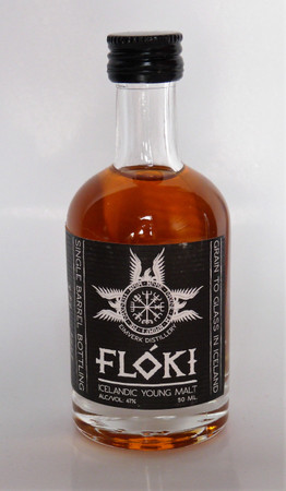 FLOKI ICELANDIC (Island)YOUNG MALT WHISKY 1x0,05l 47% MINIATUR