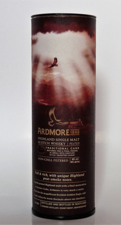 ARDMORE  Tradition Peated - Highland Single Malt Whisky 46% 1x0,05L MINIATUR