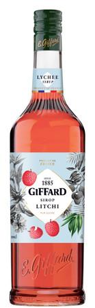 GIFFARD Bar Sirup 1,0 l - Sirup LITSCHI (Litchi) -  Mixen /  Mixgetränke / Cocktails
