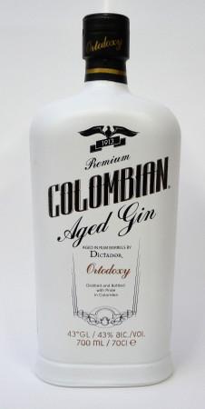 ORTODOXY Premium Colombian Aged Gin 1x0,7l 43%