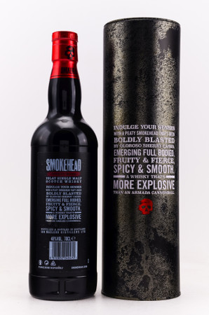 SMOKEHEAD SHERRY BOMB - Limited Edition - ISLAY SINGLE MALT WHISKY 1x0,7L 48% vol.  – Bild 2