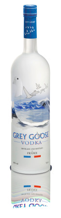 GREY GOOSE VODKA from France - 1x0,70L 40%vol.