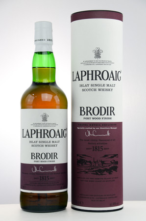 LAPHROAIG BRODIR / Port Wood Finish -  Single Islay Malt Whisky 48% 1x0,70L – Bild 1