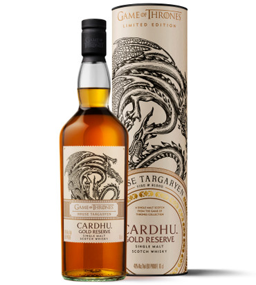 CARDHU GOLD RESERVE - HAUS TAGARYEN - Single Malt Scotch Whisky 40%Vol. 1x0,7L – Bild 2