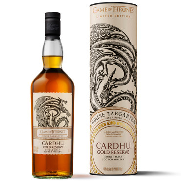 CARDHU GOLD RESERVE - HAUS TAGARYEN - Single Malt Scotch Whisky 40%Vol. 1x0,7L – Bild 1