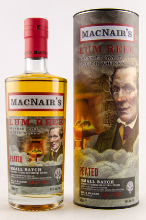 MACNAIR'S LUM REEK peated (GlenAllachie) Small Batch 46%vol. 1x0,70L  – Bild 1