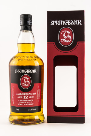 SPRINGBANK 12y.o. CASK STRENGTH 2019 - 54,8% Vol 1x0,7L  Campbeltown Single Malt Whisky – Bild 1
