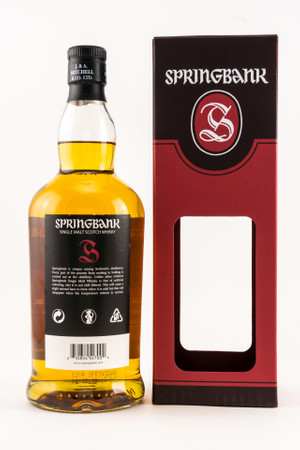 SPRINGBANK 12y.o. CASK STRENGTH 2019 - 54,8% Vol 1x0,7L  Campbeltown Single Malt Whisky – Bild 2