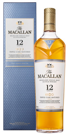 THE MACALLAN TRIPLE CASK MATURED 12 Years - Single Malt Whisky 40% 1x0,70L