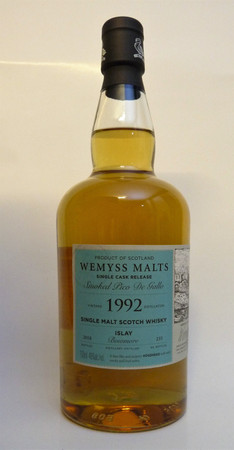 "BOWMORE 26y. 1992 - ""SMOKED PICO DE GALLO"" - 46%vol. 1x0,70L 235 Bottles – Bild 1"