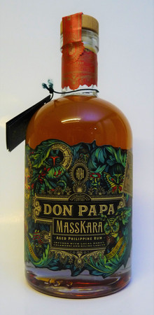 Rum DON PAPA MASSKARA 40%vol 1x0,70L - Limited Edition - RARITÄT