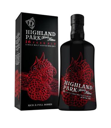HIGHLAND PARK 16 y.o. - TWISTED TATTOO  - 46,7%vol. 1x0,70L Orkney Single Malt Whisky