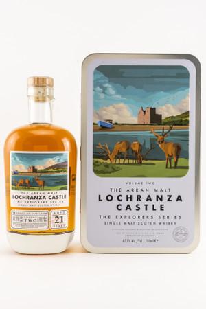 THE ARRAN 21 y.o. - LOCHRANZA CASTLE - VOL.2 - 47,2% Vol 1x0,7L Single Malt Scotch Whisky – Bild 1
