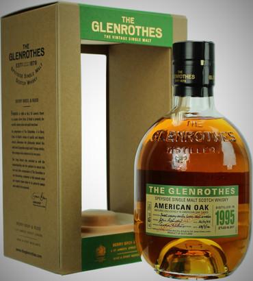 THE GLENROTHES AMERICAN OAK 1995/2017 - Single Malt Whisky 4% 1x0,70L