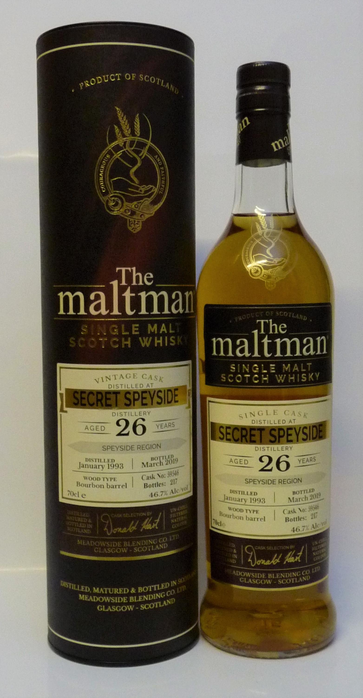 Secret Speyside 26yo The Maltman Single Malt Whisky 467vol