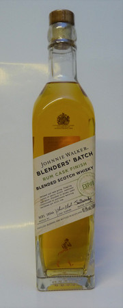 Johnnie Walker BLENDERS BATCH RUM CASK FINISH - Blended Scotch Whisky 40%Vol. 1x0,5L