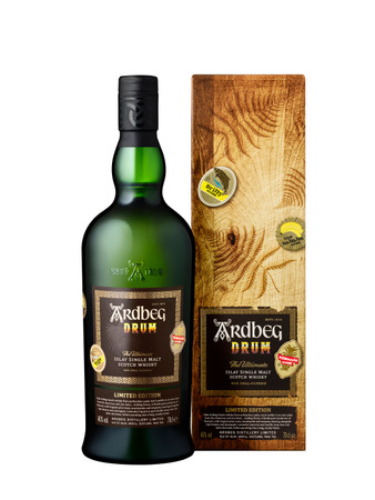 ARDBEG DRUM  Limited Edition 2019 -  46%Vol. 1x0,7L Islay Single Malt Whisky