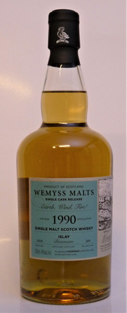 "BOWMORE 28y. 1990 - ""Earth, Wind, Fire!"" - 46%vol. 1x0,7L 200 Bottles – Bild 2"
