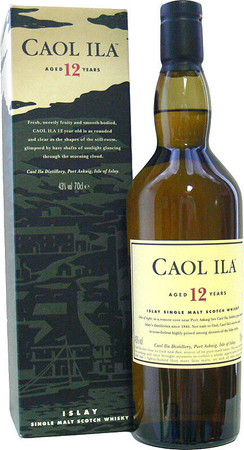 Caol Ila 12 Jahre Islay Single Malt Scotch Whisky 43% 0,7L