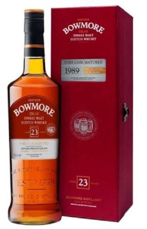 BOWMORE 23 Jahre - Single Islay Malt Whisky 50,8% 1x0,70L Port Cask Matured