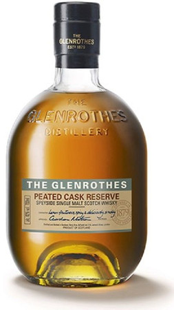 THE GLENROTHES Peated Cask Reserve - Single Speyside Malt Whisky 40% 1x0,70L