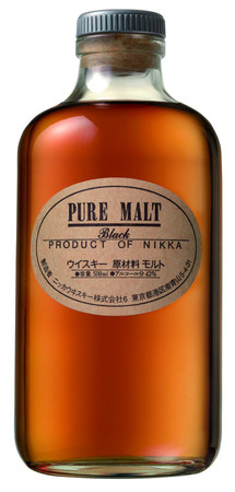 Nikka Pure Malt Black - 43%vol 1x0,50L - Japan Blended Malt Whisky