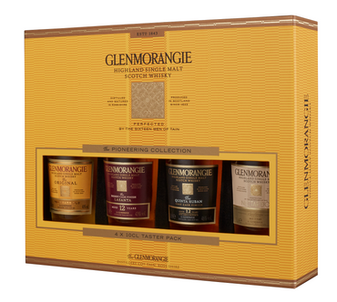 GLENMORANGIE TASTER PACK - Single Highland Malt Scotch Whisky 4x0,10L – Bild 1