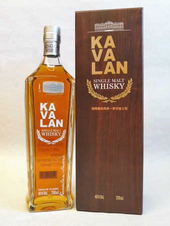 KAVALAN - Single Malt Whisky Taiwan 40%vol. 1x0,70L