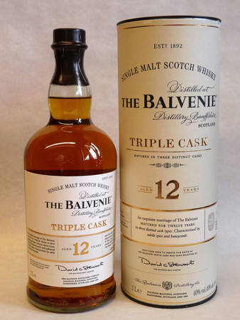 Balvenie 12 Jahre Triple Cask 1x1,0L 40,0% Single Malt Scotch Whisky